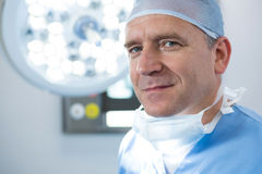 Portrait of male surgeon Royalty Free Stock Images
