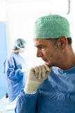 Portrait of a Male Surgeon At Work Stock Photography