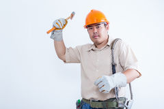 Portrait of male technician Stock Photography