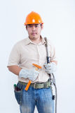 Portrait of male technician Royalty Free Stock Photos