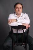 Portrait of the man Stock Photos