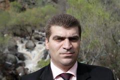 Portrait of man Stock Image