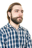 Portrait of the man with a beard Royalty Free Stock Photography