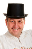 Portrait of a man in a bowler hat Royalty Free Stock Image