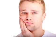 Portrait of man closeup Stock Photos