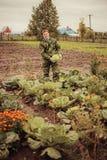 Portrait. Portrait of a man with a crop Stock Images