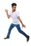 Portrait Of Man Dancing Stock Images