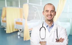 Portrait of man doctor Royalty Free Stock Photography
