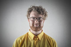 Portrait of a man with glasses Royalty Free Stock Photography