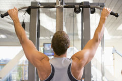 Portrait Of Man At Gym Royalty Free Stock Photography