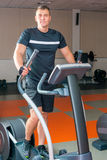 Portrait of a man in the gym Royalty Free Stock Photography