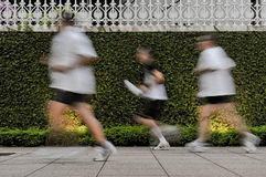 Portrait of a man jogging Royalty Free Stock Photography