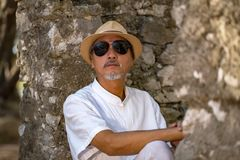 Man in meditation Royalty Free Stock Photos