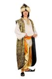 Portrait of a man in oriental costume Royalty Free Stock Photography