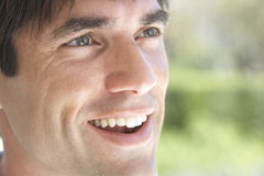 Portrait Of Man Smiling Stock Photography