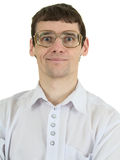 Portrait man in spectacles Stock Photo