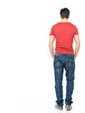 Portrait of man standing back in casuals Stock Photo