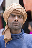 Portrait man on the street in Leh, Ladakh. India Royalty Free Stock Photography