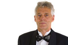 Portrait of a man in tuxedo Stock Images
