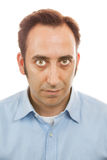 Portrait of a man on white background Royalty Free Stock Photography