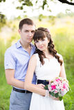 Portrait of a man and woman Royalty Free Stock Photography