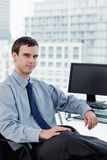 Portrait of a manager posing Royalty Free Stock Photos