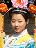 Portrait of manchurian woman Stock Photos