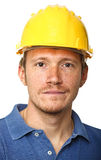 Portrait of manual worker Royalty Free Stock Photo