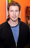 Portrait of Marat Safin in exhibition Royalty Free Stock Photography