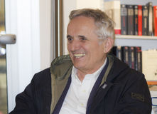 Portrait marco bellocchio smiling and laughing Stock Image