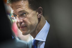 Portrait of Mark Rutte Royalty Free Stock Images