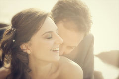 Portrait of married couple Stock Photography