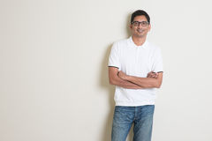 Portrait masculin indien photographie stock