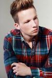 Portrait of masculine man Stock Photo