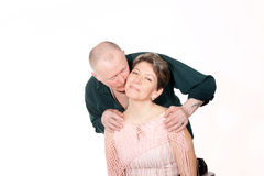 Portrait of mature adult couple Stock Images