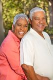 Mature AFrican American Couple. Portrait Of A Mature AFrican American Couple Stock Photography