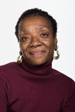 Portrait of mature African American woman Stock Images