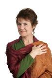 Portrait of Mature Beauty Stock Images