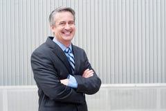 Portrait of a mature business man Stock Images