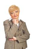 Portrait of mature business woman Stock Photo