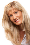 Portrait mature business woman isolated Royalty Free Stock Photos