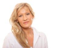Portrait mature business woman royalty free stock photo