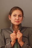 Portrait of mature business woman Royalty Free Stock Image