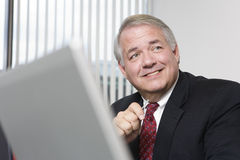 Portrait of mature businessman Stock Photo