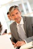Portrait of mature businessman Stock Image