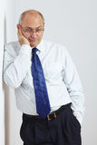 Portrait of mature businessman Royalty Free Stock Photography