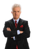 Portrait of Mature Businessman Stock Photography