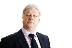 Portrait  mature businessman Royalty Free Stock Photography