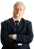 Portrait  mature businessman Royalty Free Stock Images