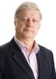 Portrait  mature businessman Stock Photo
